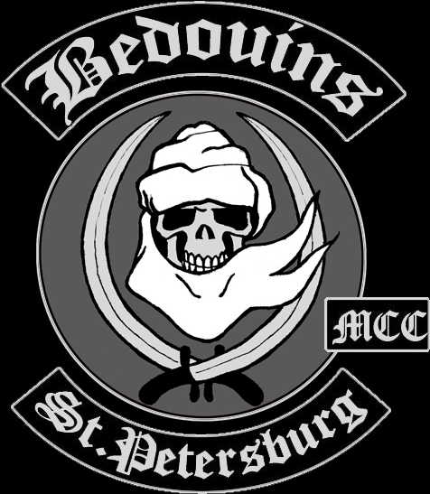 Логотип - цвета мотоклуба Бедуинс МСС г. Санкт-Петербург - http://bedouins.ucoz.ru
